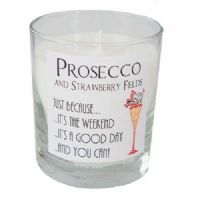 Prosecco And Strawberry Fields Candle